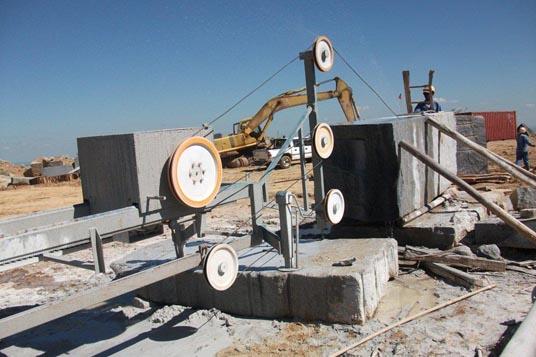 Wire Saw Granite Cutting Machine - WIRE Center •